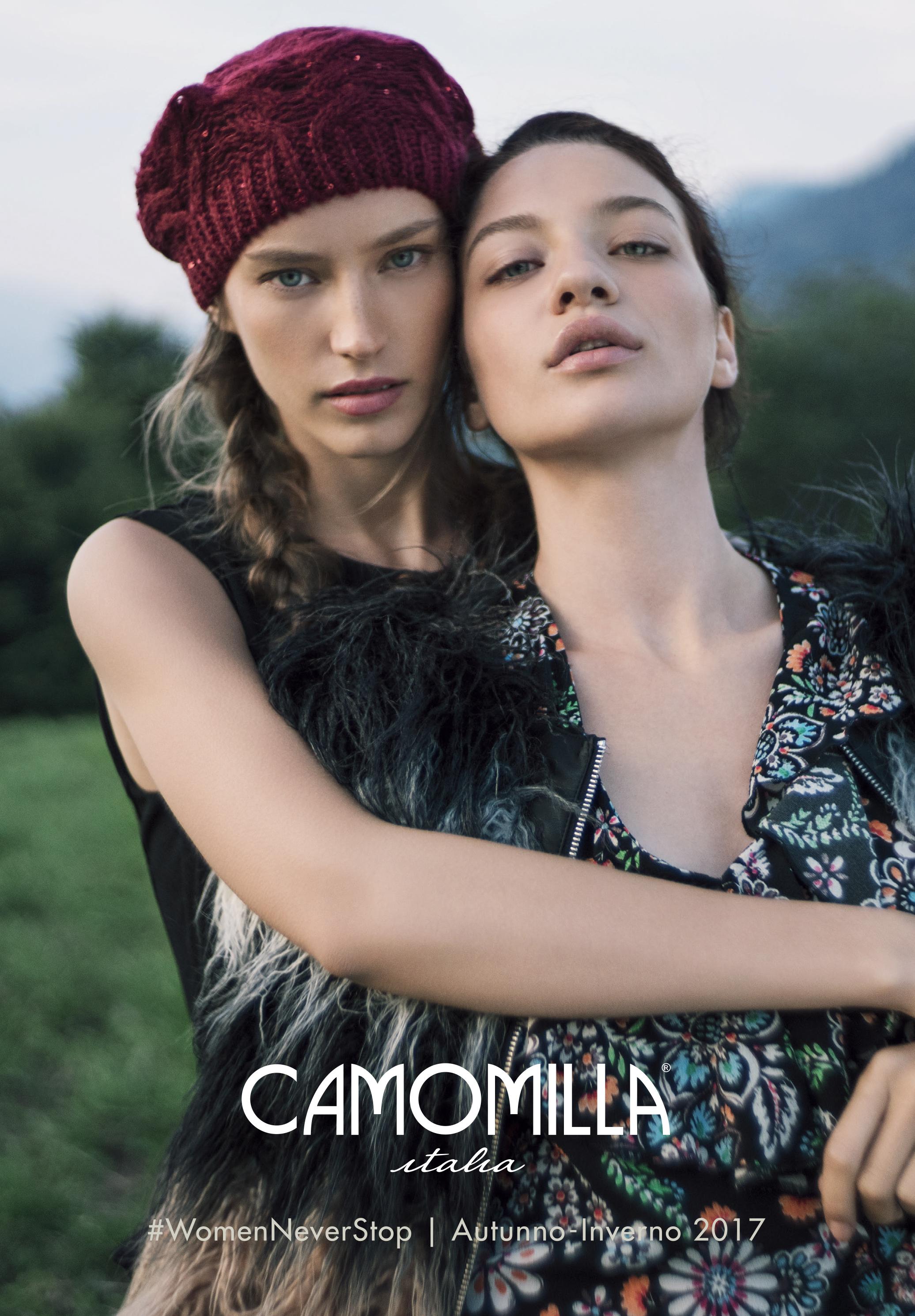 Camomilla Italia insieme a Grey per la nuova collezione Autunno ... b84b7af0c33
