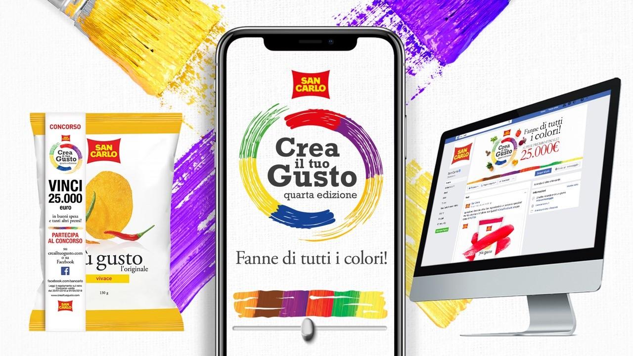 A tono firma la quarta edizione del concorso crea il tuo for San carlo crea il tuo gusto