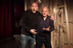 Francesco Bozza e Claudio Bisio