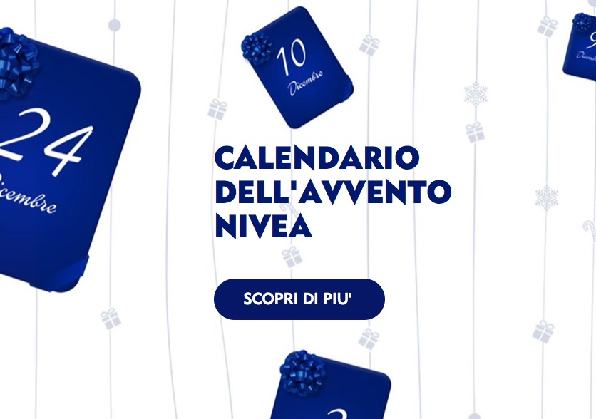Nivea Calendario Avvento.Nivea Lancia Il Calendario Dell Avvento 2018 Un Concorso