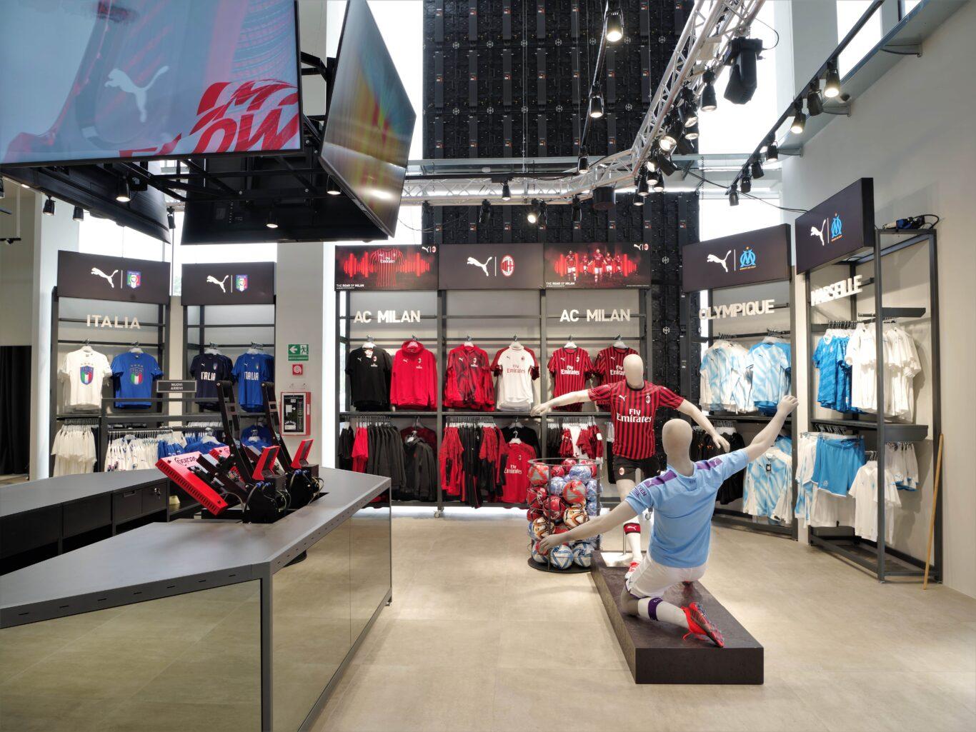 new concept e0f4d 9d62a Inaugurato a Scalo Milano l'Outlet Puma più grande di Italia ...