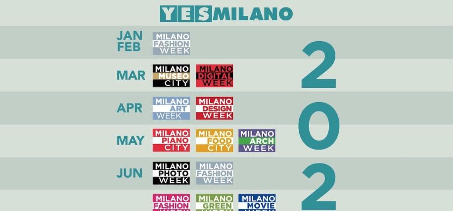 Calendario Alba Tramonto 2020.Ecco Il Calendario Delle Week Che Animeranno Milano Nel